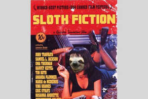 These Sloth Film Posters Replace Actors With the Loveable Creature