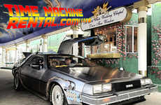 Iconic Movie Vehicle Rentals - Time Machine Rental Lets You Rent a Delorean From Back to the Future