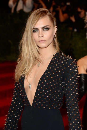 Glamorous Punk Celeb Beauty - The 2013 Met Gala Beauty Looks are Subtle and Dramatic