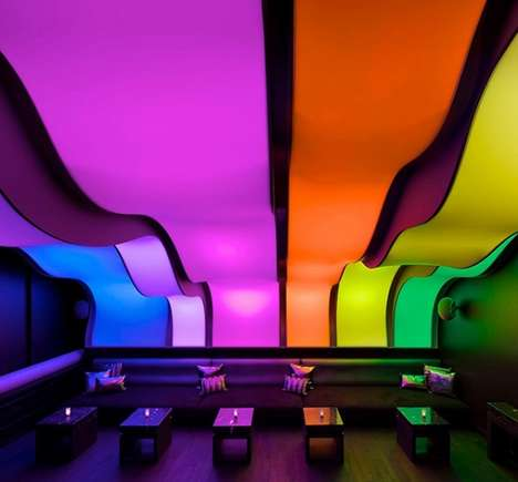 Luxury Rainbow-Themed Bars - Montreal
