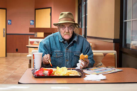 Fast Food Customer Portraits - People You Meet at McDonalds by Nolan Conway Shows Diverse Patrons