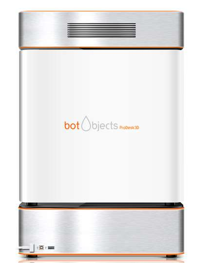 Revolutionary Home 3D Printers - BotObjects ProDesk3D Brings Color 3D Printing to Your Living Room