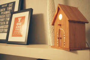 'Baby Birdhouse Lamps' from Modern Treetop are Soothing for All Ages