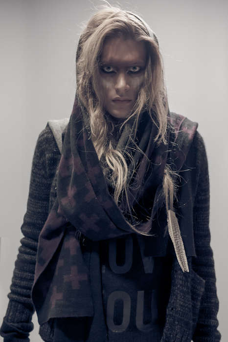 Wintery Wilderness-Inspired Menswear - The Raif Adelberg A/W 13 Collection is Full of Tough Attire