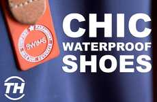 Chic Waterproof Shoes - Swims Footwear