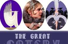 20s-Inspired Movie Nails - The Greaty Gatsby Inspired Manicure by the Beauty Department is Spot On