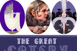 The Greaty Gatsby Inspired Manicure by the Beauty Department is Spot On