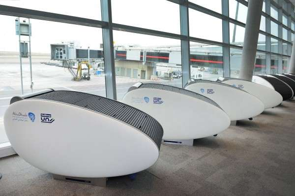 Covered Airport Pods