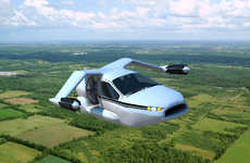 Automatic Flying Automobiles - Terrafugia TF-X is an Innovative Airborne Vehicle That Goes 200mph