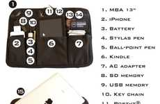 Multipurpose Gadget Sleeves - The One Ninja Sleeve is a Multi-functional Laptop Case