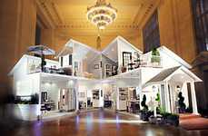 Life-Sized Dollhouse Installations - Grand Central Station Hosts a Huge House to Promote Target