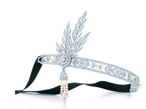 Glamourous Jazz-age Jewelry - This Great Gatsby-Inspired Collection by Tiffany & Co. is Opulent