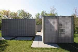Gray Organschi's Lantern-Lit Living Room Redefines Garden Chic