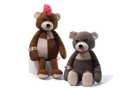 punk teddy bears