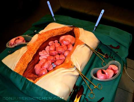 Surgery-Replicating Sweets - These Annabel De Vetten Creepy Cakes Will Gross Anyone Out