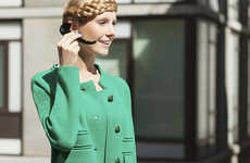 Chic Wristworn Handsets - The Mingle Bluetooth Headset is a Fashionable Extension of Your Smartphone