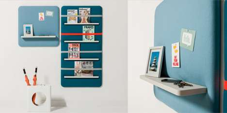 Cushioned Storage Systems - Smool Pillow Series Brings Softness and Delightful Logic to Your Office