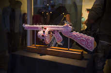 These Cake Gun Sculptures by Scott Hove are Part of 'Guns & Ecstasy'