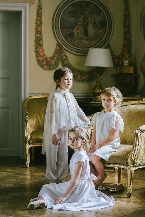 Courtly Sophisticated Childrenswear - 'Aristocrat Kids' SS14 Collection is Youthful and