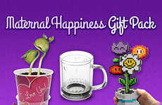 Geeky Feminine Gifts Sets - The 'Maternal Happiness Gift Pack' Includes Geek-Friendly It