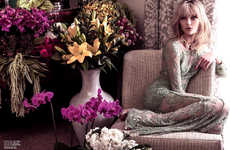 Fabulously Floral Editorials
