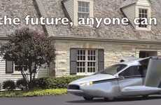 Hybrid Flying Cars - Terrafugia May Soon Have the First Street Legal Air-Born Electric Vehicles