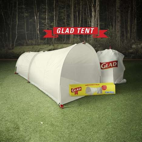 disposable tent