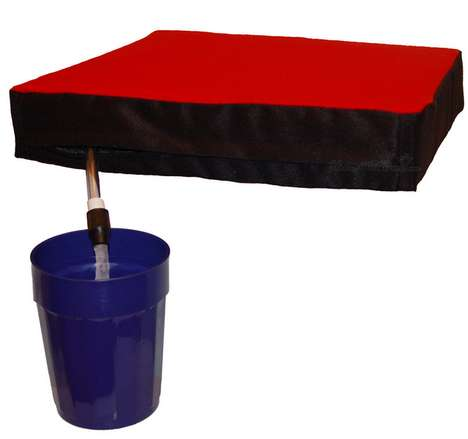 Hidden Flask Stadium Seats - These Seats Let You Stay Comfortable and Hydrated During Games