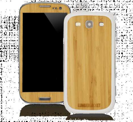 authentic wooden smartphone cases