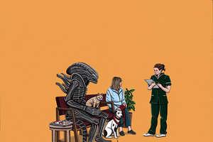 Kiersten Essenpreis' Horror Character Depictions Will Please Vill