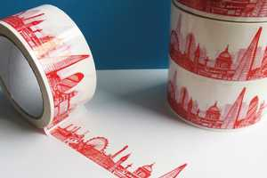 This Sticky Tape from Cecily Vessey Features Skylines of Hip Cities