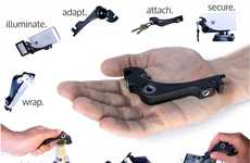 Sophisticated Smartphone Lens Attachments - The Xistera iPhone5 Attachment is Multi-Functional