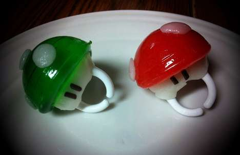 DIY 1-Up Ring Pops