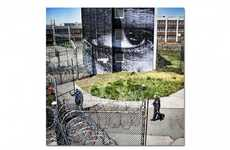 Reflective Prison Art - The Art Installation at Rikers Island Prison is Thought Provoking