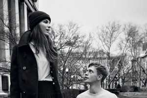 This Man About Town 2013 Editorial Depicts Student Romance