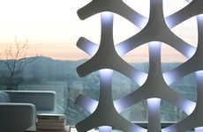 Intricate Interlocked Illuminators