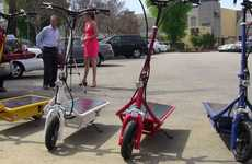 Sustainable Solar-Powered Scooters