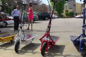 The Solar Electric Scooter is Fast and Furious-ly Eco-Friendly