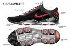 Custom-Fit Golfing Footwear