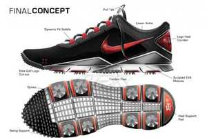 Pro Golfer Tiger Woods Teams Up with Nike to Design the Nike TW 14