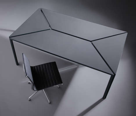 Divided Surface Desks - The Segment Table is Inspired by Shifting Tectonic Plates