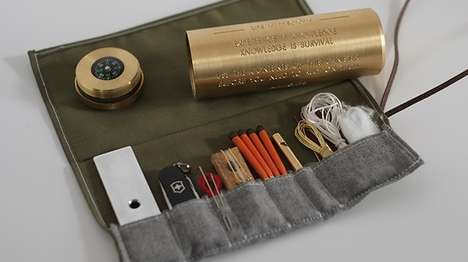Compact Catastrophe Canisters - The Fort Standard Mini Survival Kit is a Tiny Life-Saving Tool Set