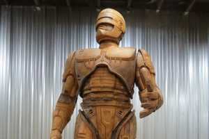 The Detroit RoboCop Statue is Majestically Gigantic