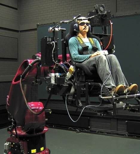 60 Shocking Reality Simulators - From Womb Simulation Seating to Stylish Coffin Simulators