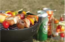 Barbecuing Lunch Boxes