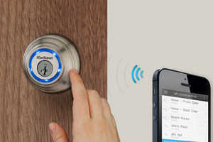 The Kwikset Kevo System Requires No Key to Enable Your Entry