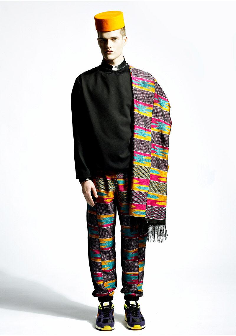 Remixed Ethnic Streetwear