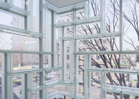 Maze-Like Flagship Stores - The Coach Flagship Store in Tokyo was Reinvented by OMA Firm