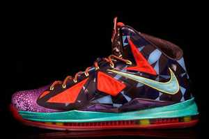 The Nike LeBron X MVP Sneakers Celebrate the Success of LeBron James