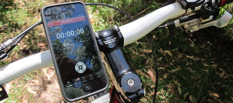 Smartphone-Savvy Cycling